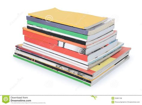 and books pile of books and magazines royalty free stock photos