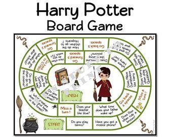 harry potter printable board games harry potter themed envelope diy printable