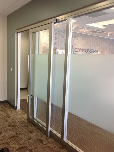Office Doors With Glass Glass Office Walls With Sliding Door By Nello Nello Wall