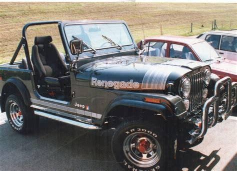 jeep cj renegade pfistertech jeep cj7