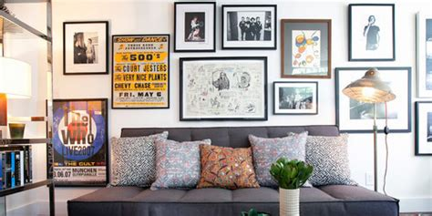 create  perfect gallery wall huffpost