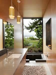 garden designed bathroom