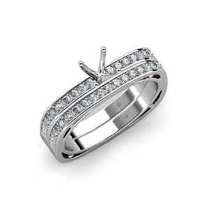 square wedding ring sets square shape bridal set ring four prong square