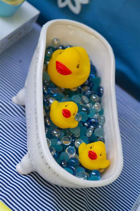baby themed rubber sts rubber duckies baby shower ideas photo 24 of 27