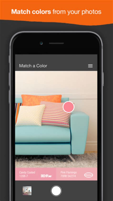 painting your home project color app by the home depot pratt homes