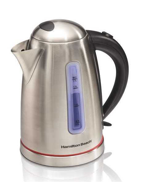 Sa Idealife Automatic Electric Kettle 2 Cups Included Il 100n hamilton 40988 1 7 l electric kettle