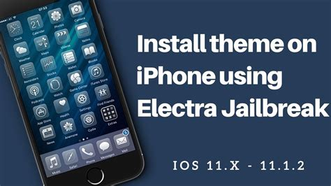installing themes on your iphone without a jailbreak install themes on ios 11 without computer electra