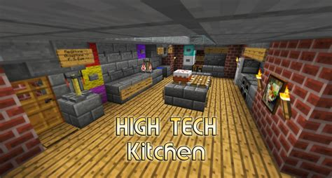 how to make your home high tech high tech kitchen house small and easy minecraft project