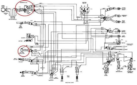 ski doo wiring diagram 1989 escapade wiring diagram vintage ski doo s dootalk