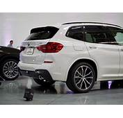 New BMW X3  Live Photos From Spartanburg Plant