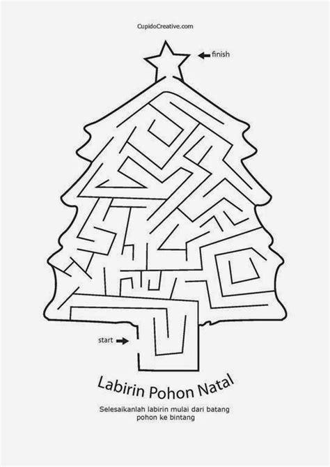 permainan membuat pohon natal tk page 162 cupidocreativeblog