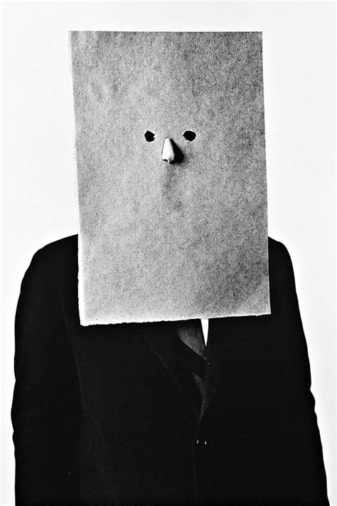 Paper-Bag Masks from 50 Years Ago   Hint Fashion Magazine