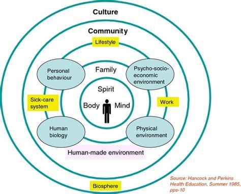 Health Model The Ottawa Charter And The Mandala Model My Global