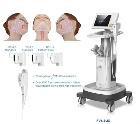 Alat Hifu wrinkle removal portable high intensity focused ultrasound