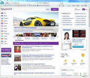 did yahoo just change their homepage format