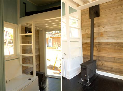 tiny house wood stove the wedgie tiny house swoon