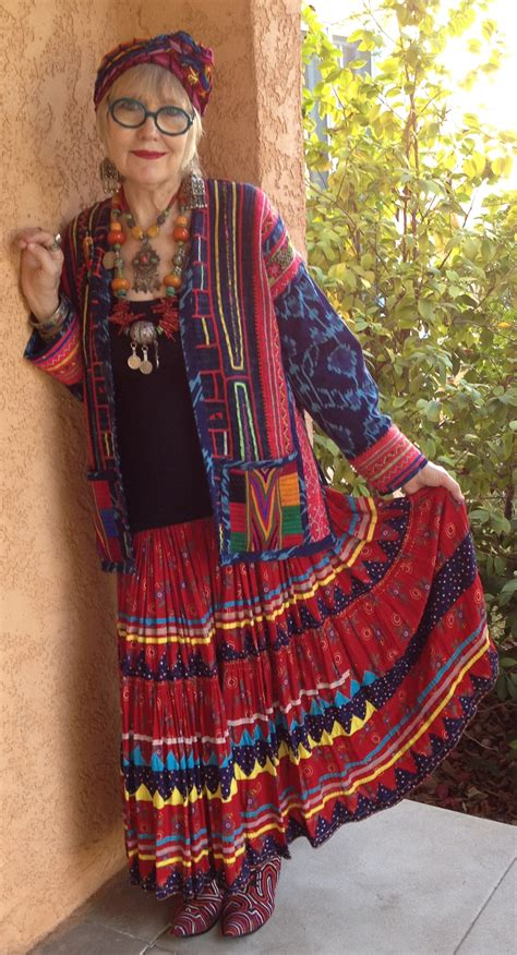 hoppie chic fir older women gypsy style power of adornment power of adornment