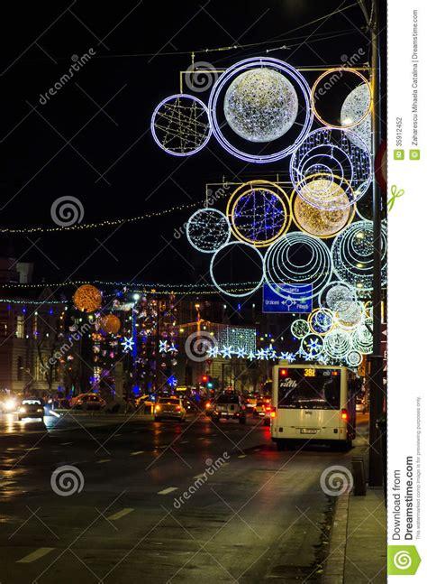 imagenes rumania navidad bucarest rumania luces de la navidad fotograf 237 a