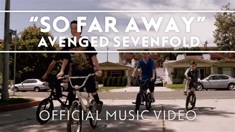 Sofa Away by Avenged Sevenfold So Far Away Official