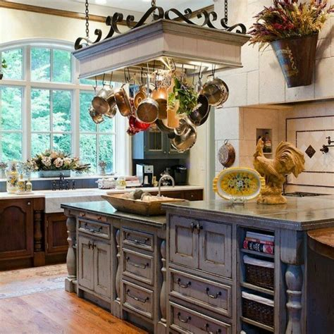 kitchen island with hanging pot rack 30 best images about pot racks on pot racks