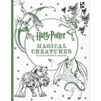 harry potter coloring book uk harry potter magical creatures colouring book by warner