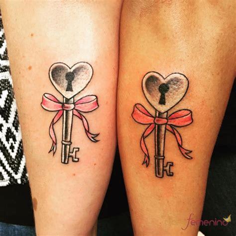 imagenes tatuajes hermanas tatuajes para hermanas la llave de tu coraz 243 n