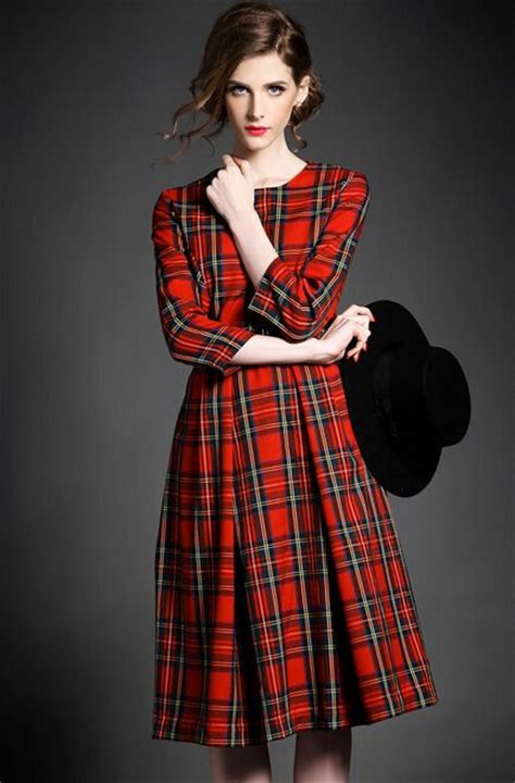 Tartania Dress 17 best ideas about tartan dress on plaid