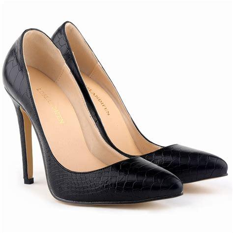 womens high heels with bottoms black pumps 11cm high heels fashion zebra womens