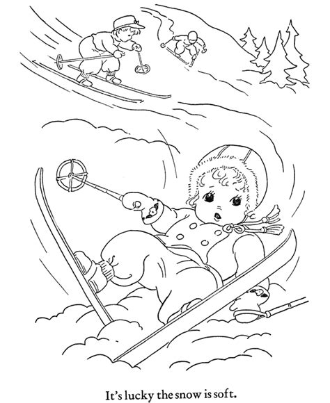 coloring book pages winter free printable winter coloring pages for