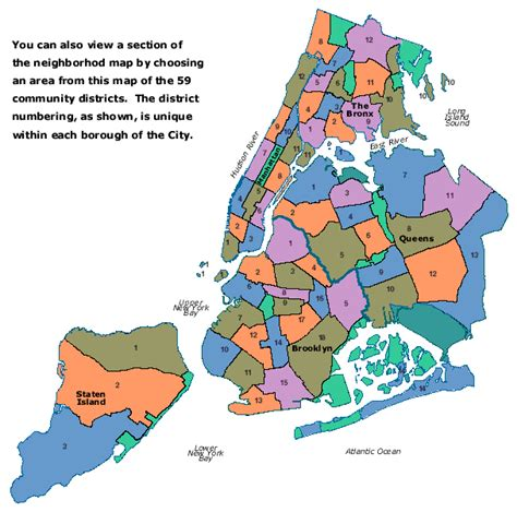 district map of nyc maps community board 9 in new york