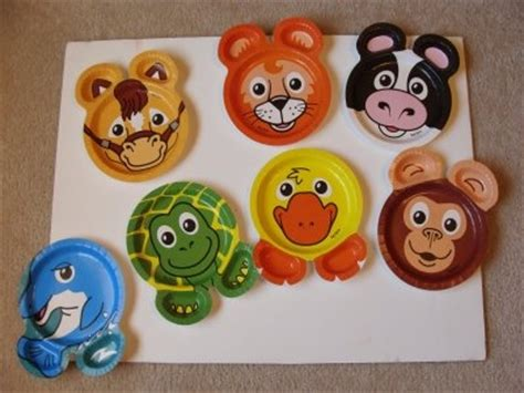 How To Make Paper Plate Animals - i like to take zoopal plates put on them and hide