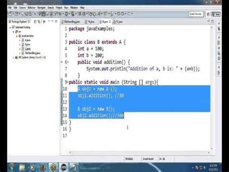 java tutorial videos in telugu java in telugu basic concepts of object oriented progra