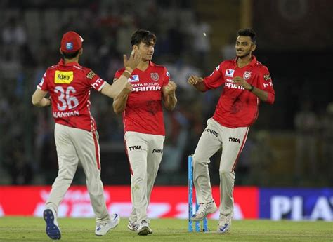 kings xi punjab is a mohali based cricket team representing punjab in kings xi punjab players celebrate fall of a wicket