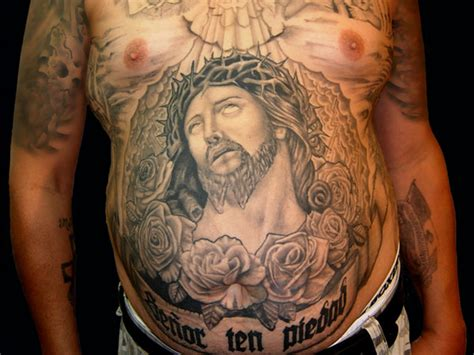 full stomach tattoos for men 26 original stomach tattoos for