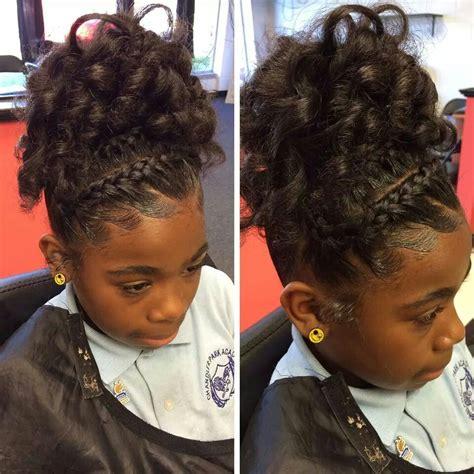 graduation hairstyles for black natural hair nice hair style natural hair style braids pinterest