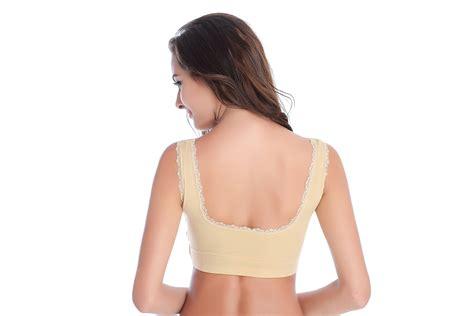 Seamless Lace Push Up Bra new seamless padded top sports lace push up bra