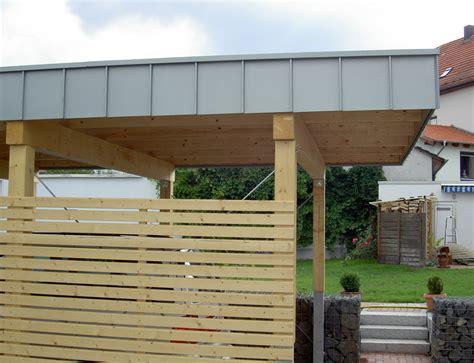 carport bedachungen projekte dachbegr 252 nung schminke dach fassade