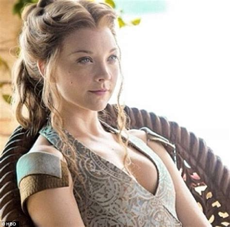 game of thrones armpit shaving natalie dormer tells glamour about cressida role in the
