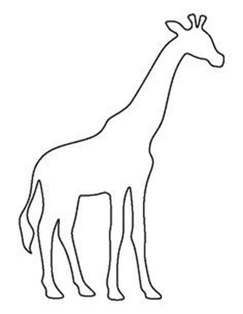 Best 25 Giraffe Pattern Ideas On Pinterest Elephant Pattern Applique Ideas And Elephant Template Giraffe Templates To Print
