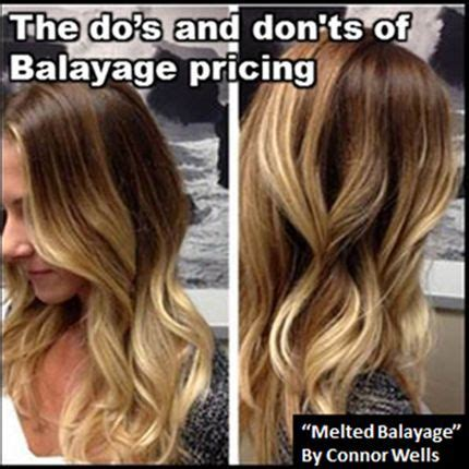 balayage pricing the dos and dont s of balayage pricing hairbiztips hair