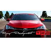 Product Toyota Racing Development TRD Motorsport Banner