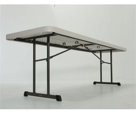 lifetime 8 folding table lifetime professional folding tables 280250 almond 8