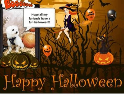 Happy Halloween Meme - hope all my furiends have a fun halloween happy halloween