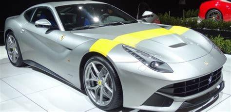 ferrari yellow paint ferrari paints a yellow stripe on f12 berlinetta