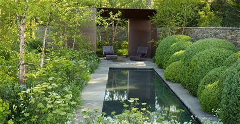 Smith Gardens by Laurent Perrier Garden Chelsea Uk Tom Stuart Smith Angela