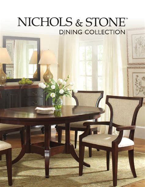 nichols and table dining collection by nichols by stickley issuu