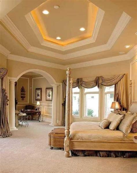home decor trend a touch of gorgeous gold stencil 20 modern bedroom designs showing glamorous bedroom