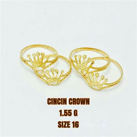 Xuping Lapis Emas 24karat harga jual cincin emas per gram gambar harga emas 23