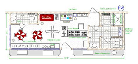 ice cream shop floor plan ice cream shop floor plan best free home design idea