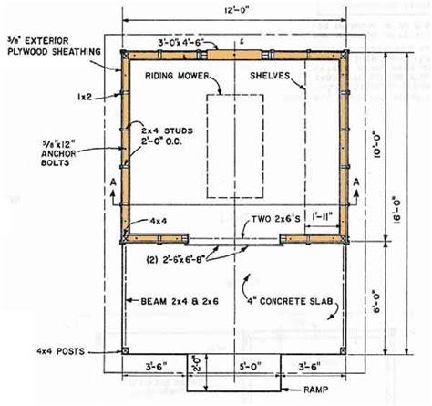 foundation  storage building shed blueprints   shed building plans